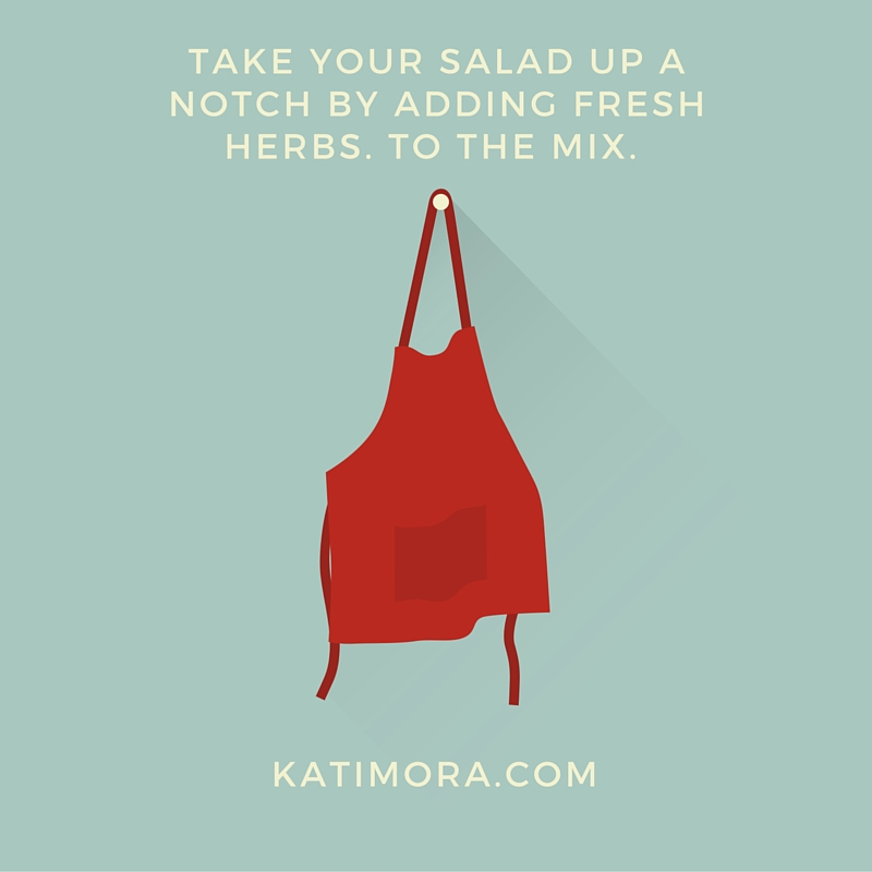 Mealtime Tip: Take Your Salad Up a Notch