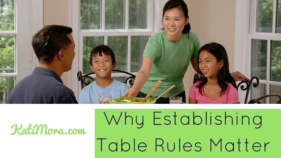 Why Establishing Table Rules Matters