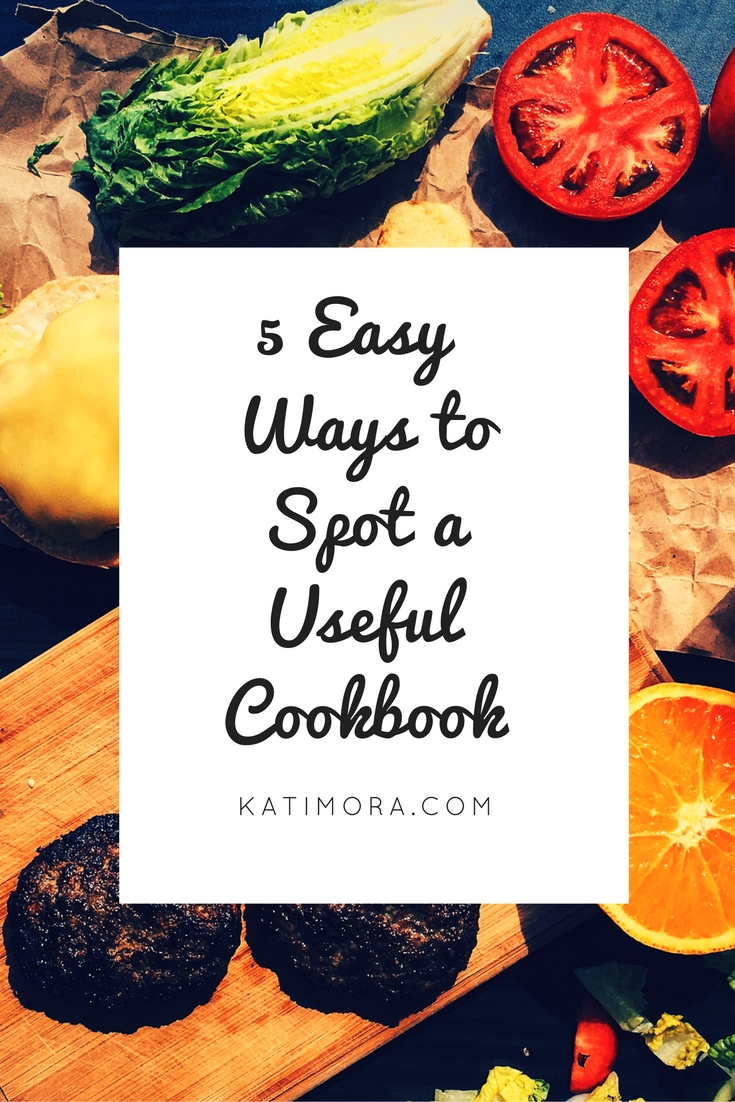 5 ways to spot a useful cookbook