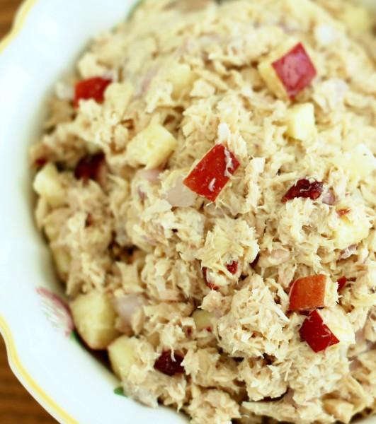 Apple Cranberry Tuna Salad