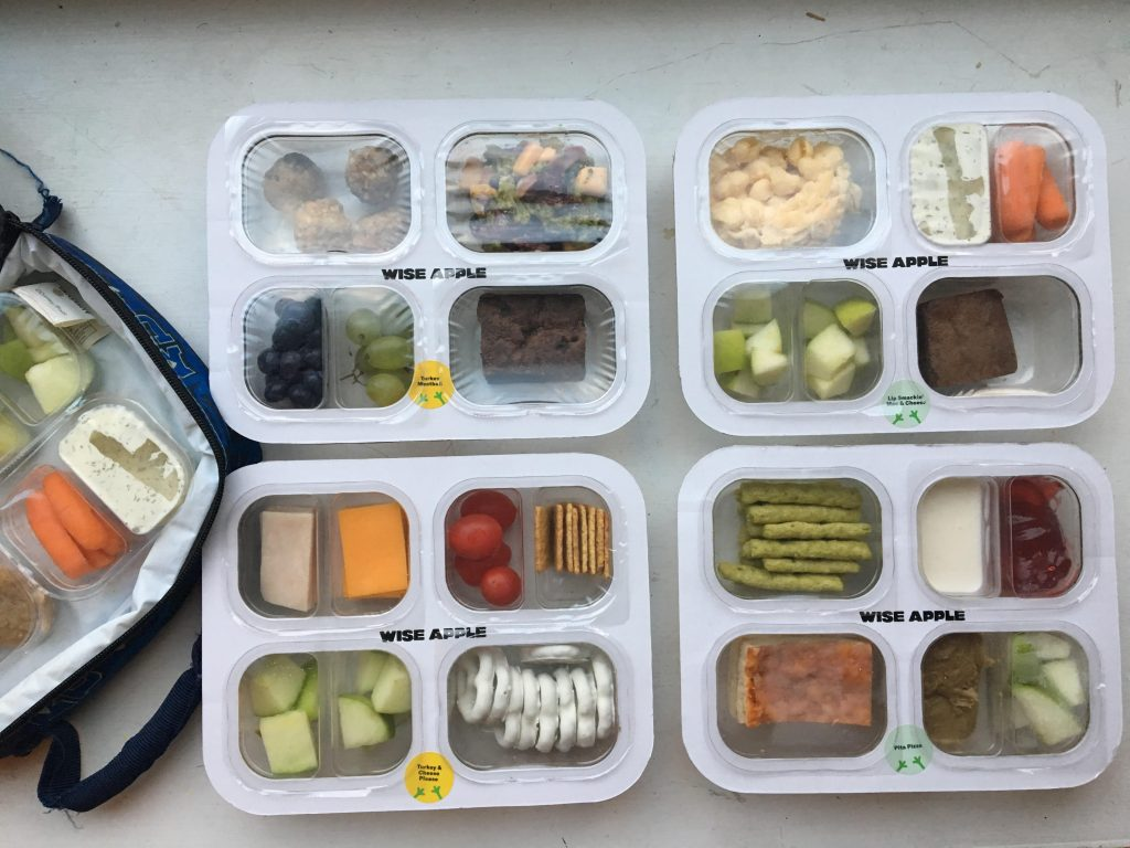 Wise Apple Set of 5 Meals